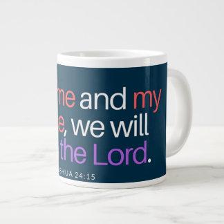 Tasse d'écriture sainte