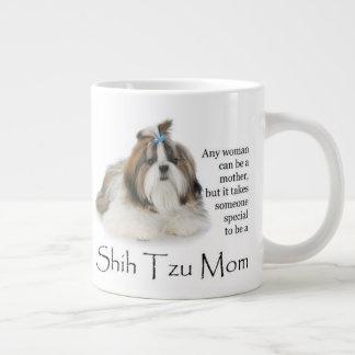 Tasse d'éléphant de maman de Shih Tzu