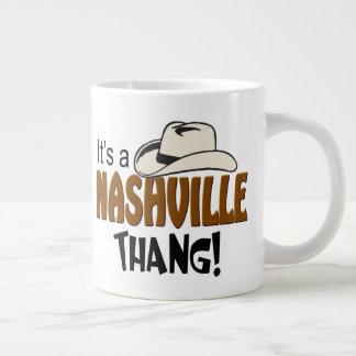 Tasse d'éléphant de Nashville Thang