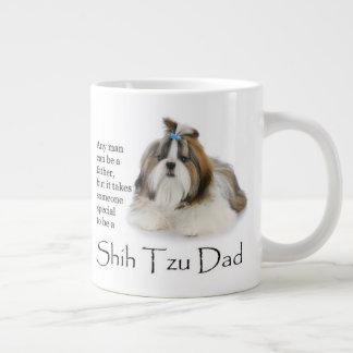 Tasse d'éléphant de papa de Shih Tzu