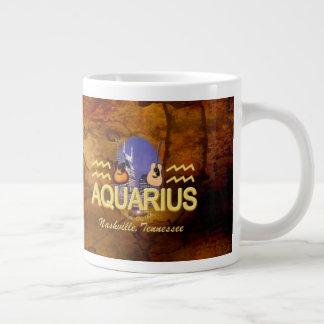 Tasse d'éléphant de Verseau de zodiaque de