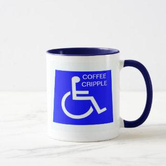 TASSE D'ESTROPIÉ DE CAFÉ
