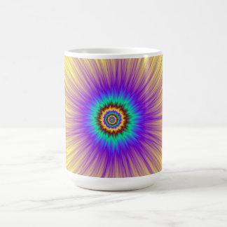 Tasse d'explosion de couleur