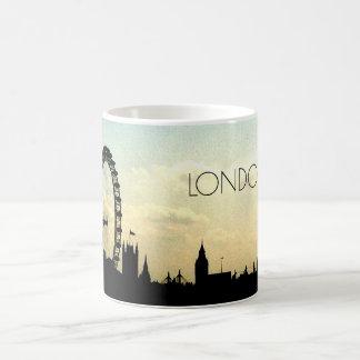 Tasse d'horizon d'oeil de Londres