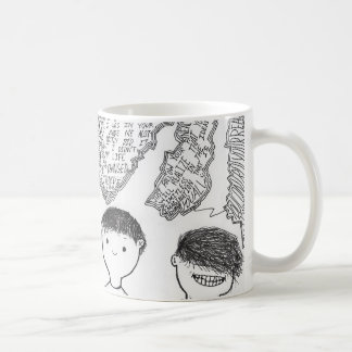 Tasse d'ILLUSTRATION d'amitié de Cody Dalla !