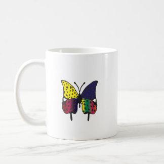 tasse d'impression de papillon