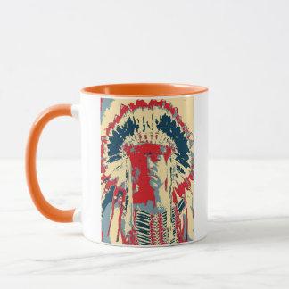 Tasse d'Indien de Mohawk