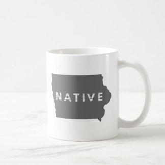 Tasse d'indigène de l'Iowa