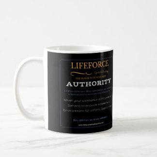 Tasse d'intention de LifeForce : AUTORITÉ