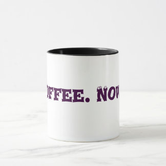 Tasse d'intoxiqué de café d'amusement