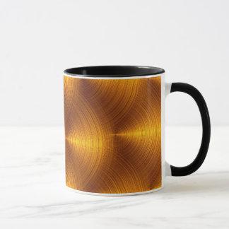 Tasse d'or de vinyle
