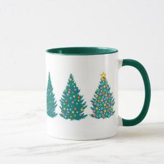 Tasse d'ordre d'arbre de Noël
