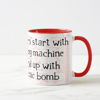 Tasse drôle de citation d'ingénieur
