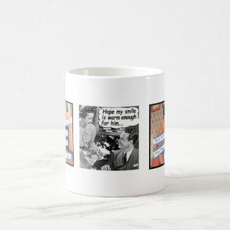 tasse drôle de femme au foyer des années 50