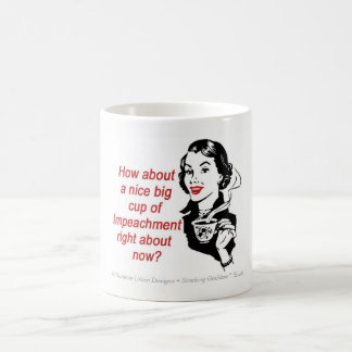 Tasse drôle de mise en accusation, tasse féministe
