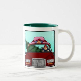 Tasse drôle Spectickles d'humour de Noël