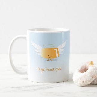 Tasse du gâteau de nourriture d'ange  