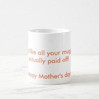 """Tasse du jour de mère """"de agression"""""""