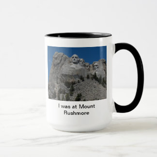 Tasse du mont Rushmore