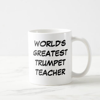 """Tasse du plus grand """"professeur de la trompette du"""