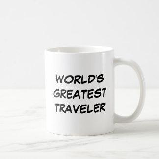 """Tasse du plus grand """"voyageur du monde"""""""