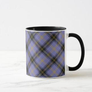 Tasse écossaise de tartan de clan de Bell