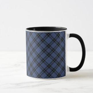 Tasse écossaise de tartan de clan de Clark
