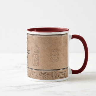 Tasse égyptienne antique