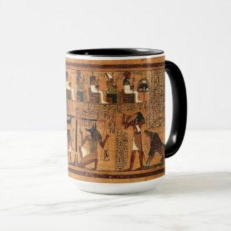 Tasse égyptienne de Royals de papyrus