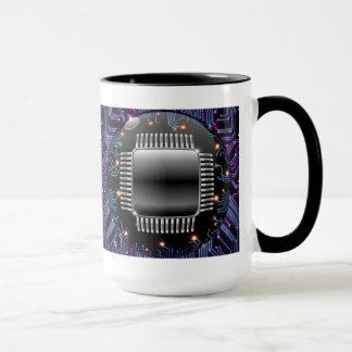 Tasse électronique de circuit de carte mère