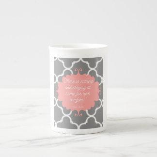 Tasse élégante de citation de Jane Austen