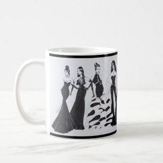 Tasse en céramique avec le beau graphique de mode