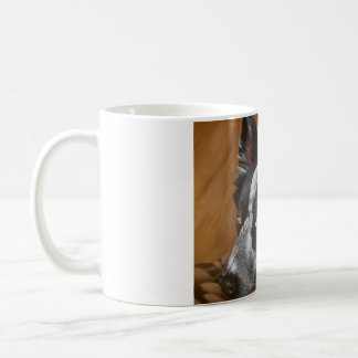 Tasse en céramique de border collie