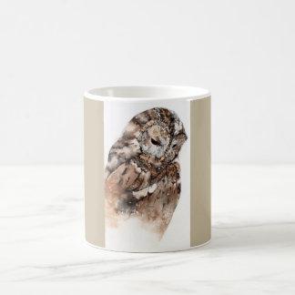 Tasse en céramique de hibou