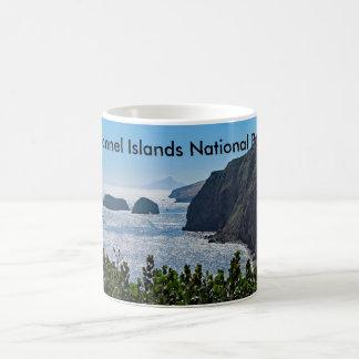 Tasse en céramique de parc national des Îles