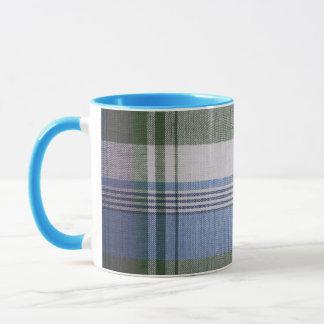 Tasse en céramique de plaid