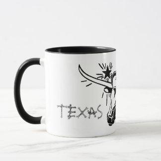 Tasse en céramique d'El Paso le Texas Longhorn