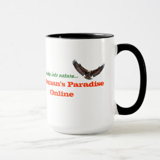 Tasse en ligne d'Eagle du paradis du sportif