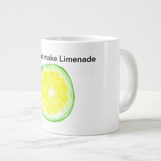Tasse enorme de Limenade