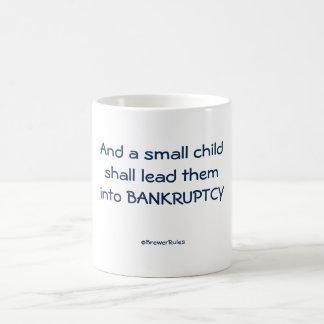 Tasse : Et un petit enfant les mènera dans…