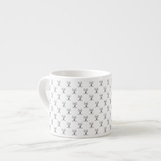 Tasse Expresso Canette J'exprime Maille Arch Search