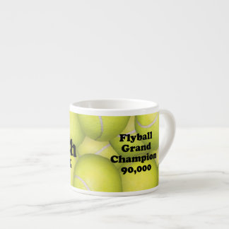 Tasse Expresso FGDCh 90 K, champion grand de Flyball, 90.000