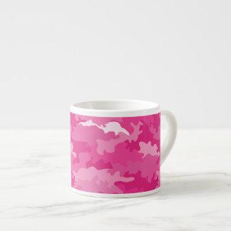 Tasse Expresso Motif girly romantique de rose de camouflage de