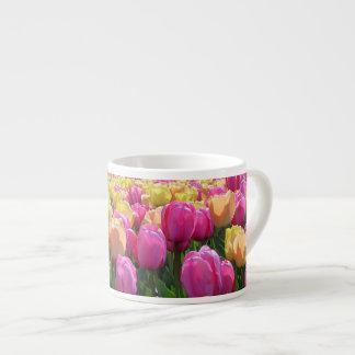 Tasse Expresso Tulipes de ressort