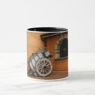 Tasse faite sur commande de vieux chariot -
