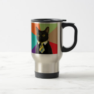 Tasse faite sur commande de voyage de chat