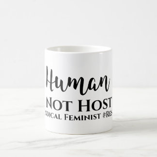 Tasse féministe #Radical de #Resist d'hôte