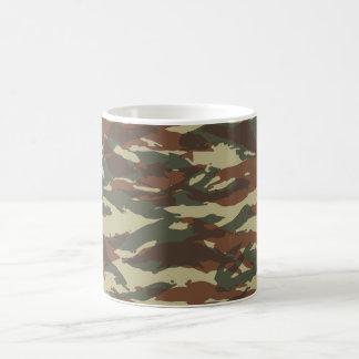 tasse française de camo de lézard