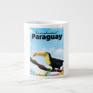 Tasse Géante Affiche de voyage de toucan du Paraguay
