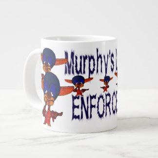 Tasse Géante Autorité de la loi de Murphy